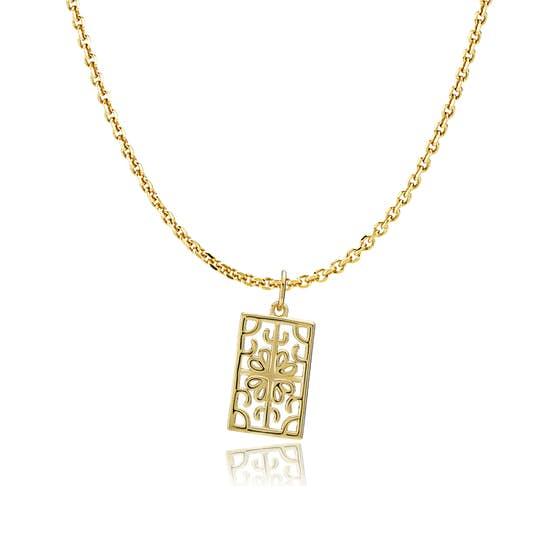 Balance necklace från Sistie i Förgyllt-Silver Sterling 925|Blank