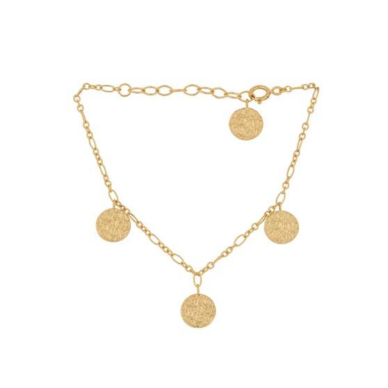 New Moon bracelet fra Pernille Corydon i Forgyldt-Sølv Sterling 925|Blank