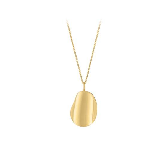 Nova necklace von Pernille Corydon in Vergoldet-Silber Sterling 925|Blank