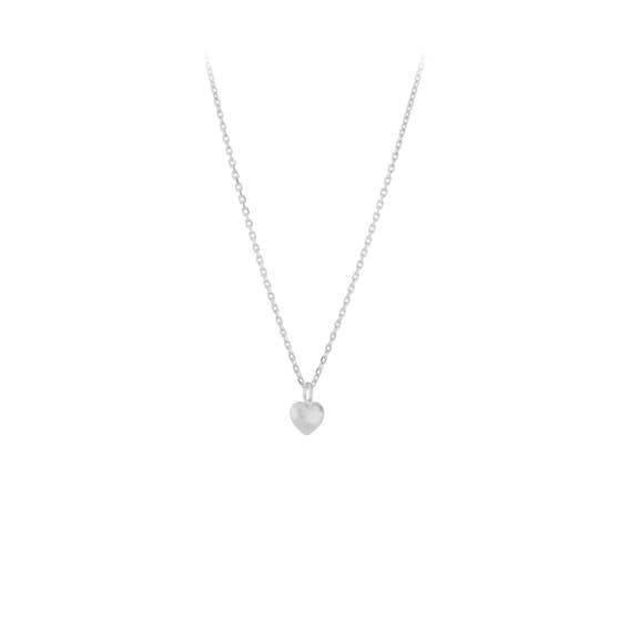Love necklace von Pernille Corydon in Silber Sterling 925| Matt,Blank