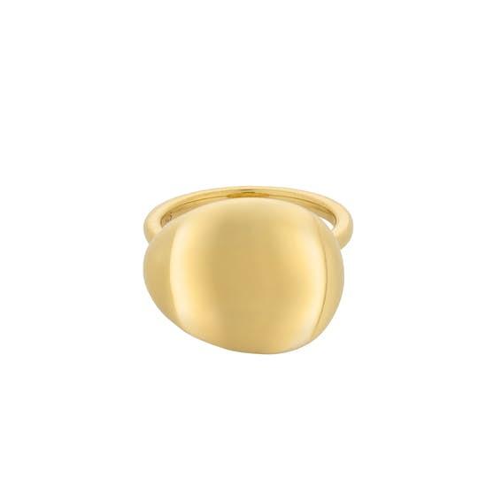 Stellar ring von Pernille Corydon in Vergoldet-Silber Sterling 925