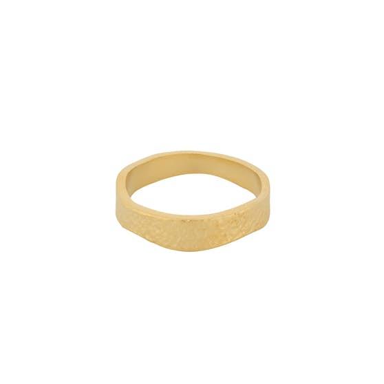 Moonscape Ring fra Pernille Corydon i Forgylt-Sølv Sterling 925