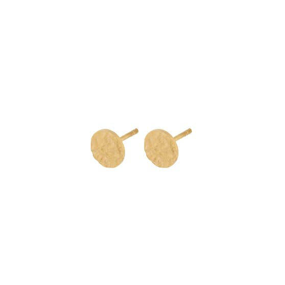 New Moon earsticks from Pernille Corydon in Goldplated-Silver Sterling 925