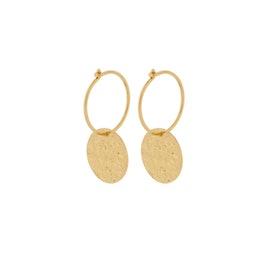 New Moon earrings från Pernille Corydon i Förgyllt-Silver Sterling 925