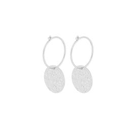 New Moon earrings von Pernille Corydon in Silber Sterling 925
