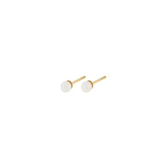Lagoon earsticks fra Pernille Corydon i Forgylt-Sølv Sterling 925