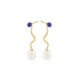 Lapis Lagoon earrings