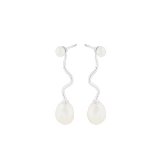 Lagoon earrings fra Pernille Corydon i Sølv Sterling 925