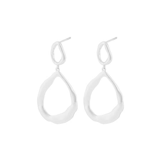 Gaia earrings från Pernille Corydon i Silver Sterling 925