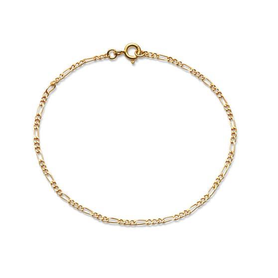 Figaros bracelet fra Maanesten i Forgylt-Sølv Sterling 925|Blank