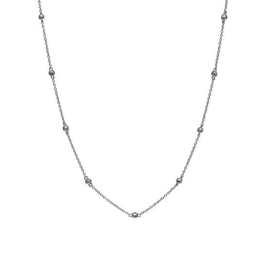 Lava necklace fra Maanesten i Sølv Sterling 925