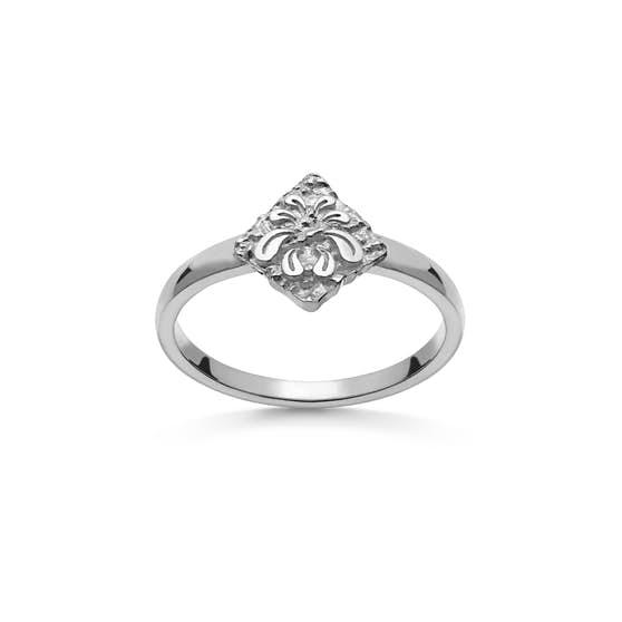 Brin ring fra Maanesten i Sølv Sterling 925|Blank