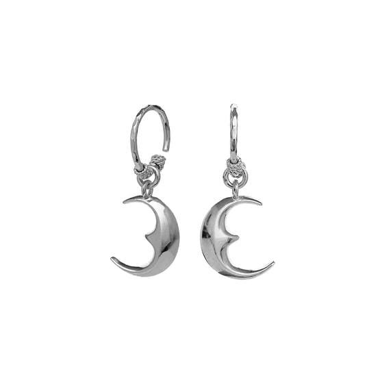 Moonie earrings from Maanesten in Silver Sterling 925