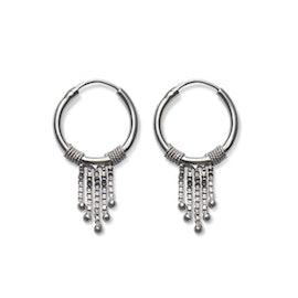Tassel earrings aus Maanesten