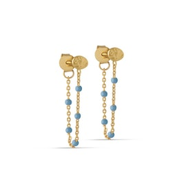Lola earrings Blue