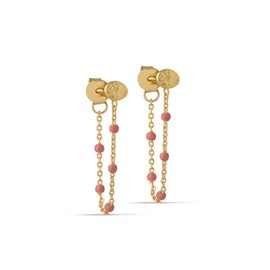 Lola earrings Coral