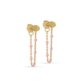 Lola earrings Light Pink