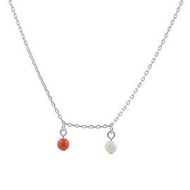 Alma Gemstone necklace from A-Hjort in Silver Sterling 925|Blank