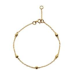 Lava bracelet från Maanesten i Förgyllt-Silver Sterling 925|Blank