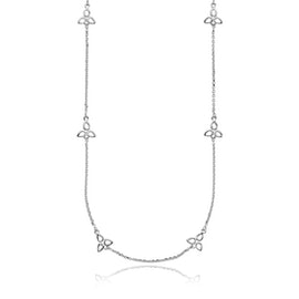 Scarlet Necklace from Izabel Camille in Silver Sterling 925