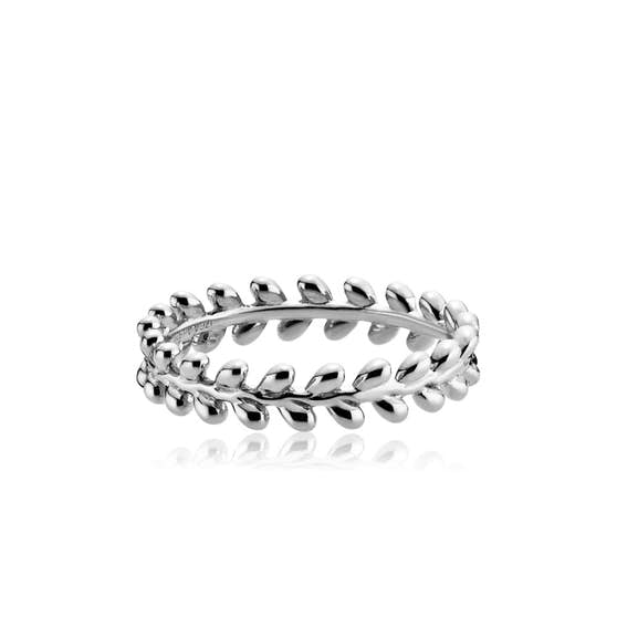 Olivia Ring from Izabel Camille in Silver Sterling 925