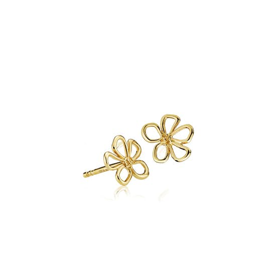 Honey earsticks from Izabel Camille in Goldplated-Silver Sterling 925