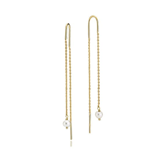 Mary earchains from Izabel Camille in Goldplated-Silver Sterling 925