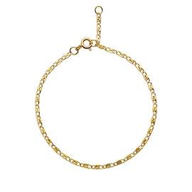 Eva bracelet fra Maanesten i Forgylt-Sølv Sterling 925|Blank
