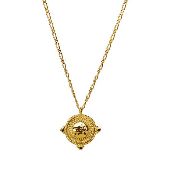 Audrey necklace fra Maanesten i Forgyldt-Sølv Sterling 925|Blank
