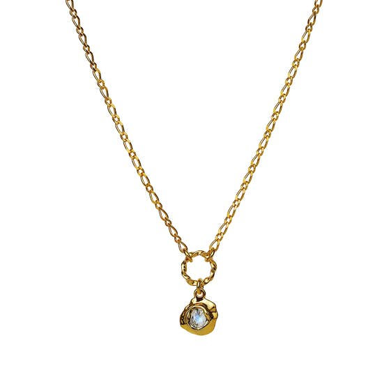 Dorith necklace from Maanesten in Goldplated-Silver Sterling 925