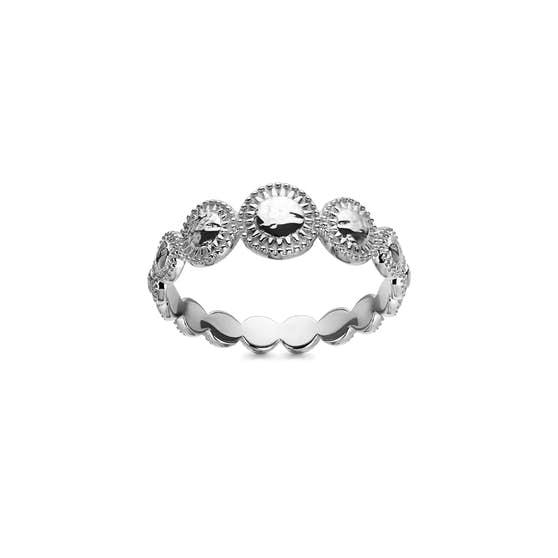 Tara ring von Maanesten in Silber Sterling 925| Matt,Blank
