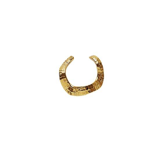 Sienna earcuff von Maanesten in Vergoldet-Silber Sterling 925