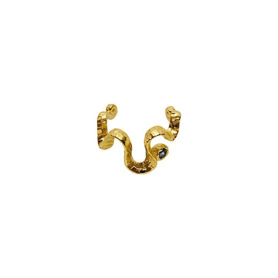 Dua earcuff från Maanesten i Förgyllt-Silver Sterling 925