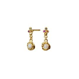 Taya earrings von Maanesten in Vergoldet-Silber Sterling 925