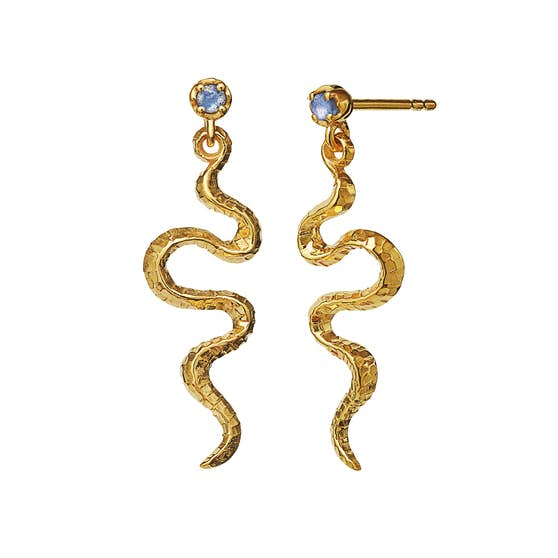 Lucy earrings fra Maanesten i Forgylt-Sølv Sterling 925