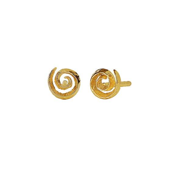 Linda earrings fra Maanesten i Forgyldt-Sølv Sterling 925