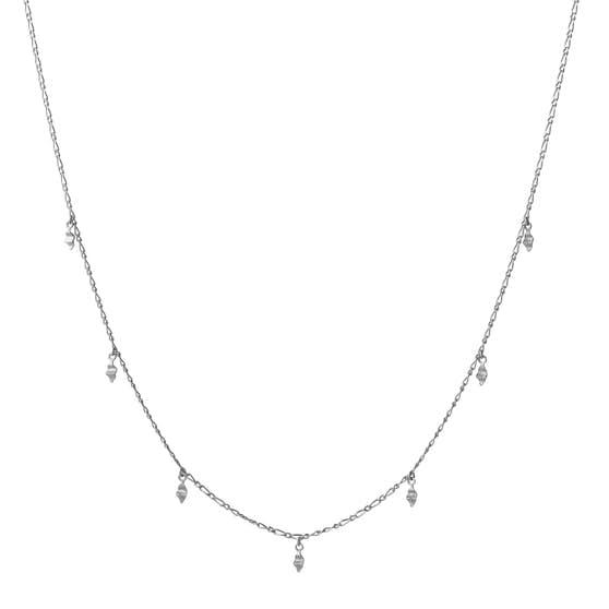 Una necklace von Maanesten in Silber Sterling 925| Matt,Blank