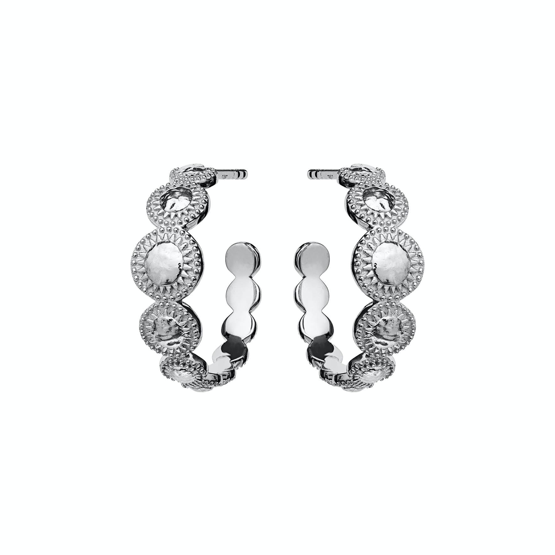 Tara Earrings von Maanesten in Silber Sterling 925