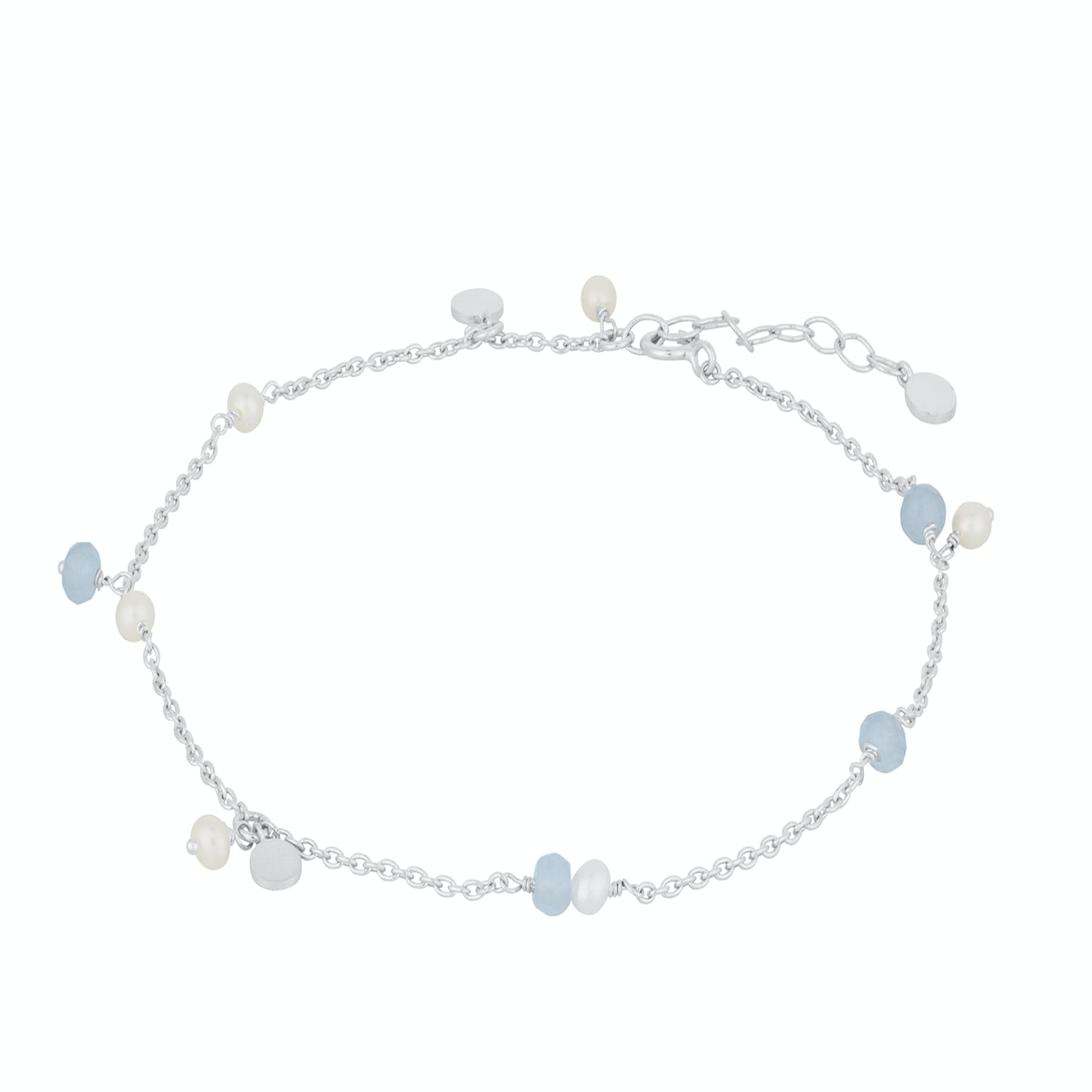 Afterglow Sea Anklet von Pernille Corydon in Silber Sterling 925