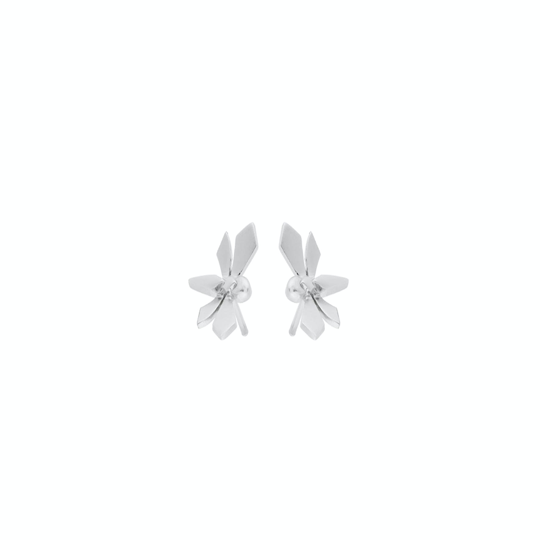 Hover Earsticks from Pernille Corydon in Silver Sterling 925