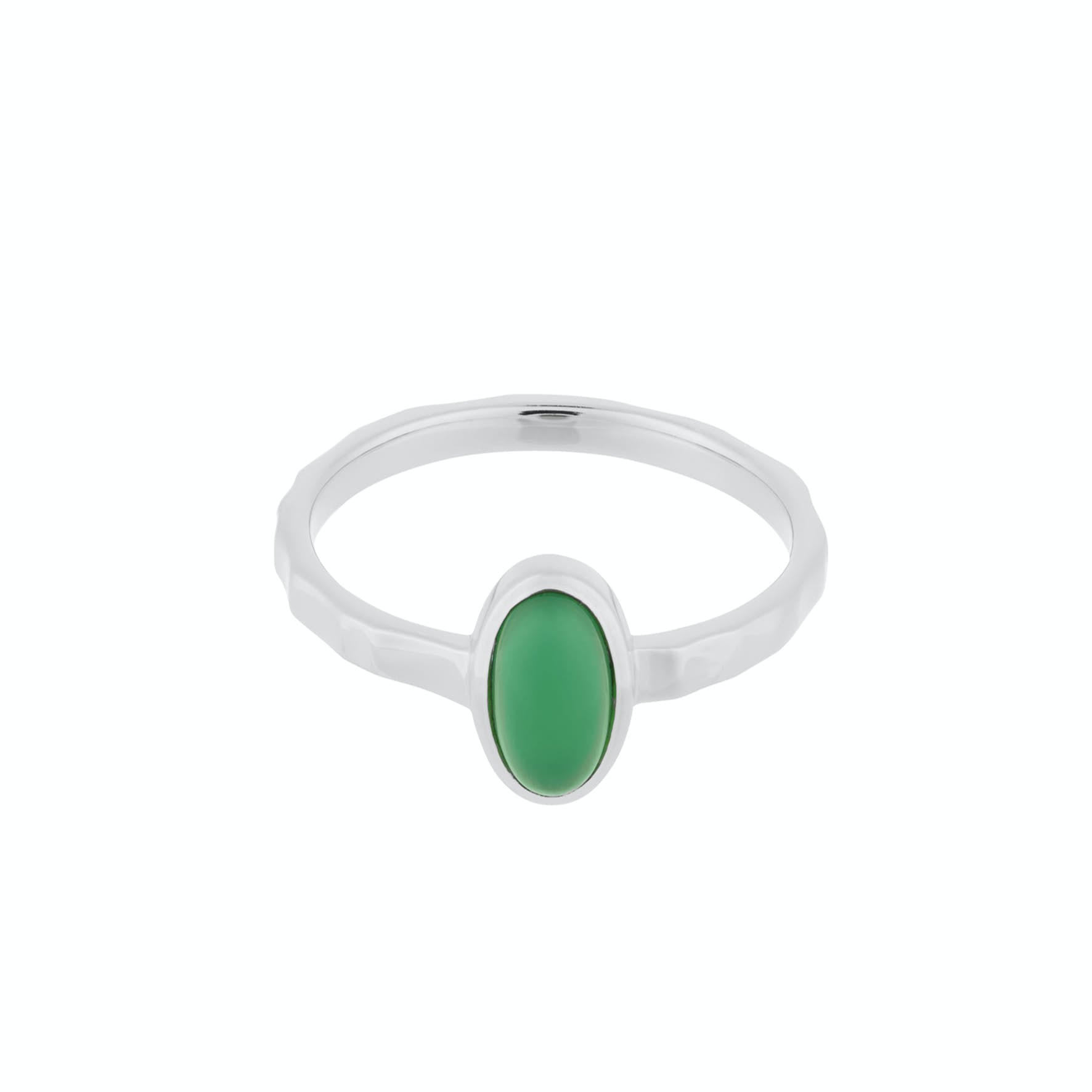 Shine Green Ring von Pernille Corydon in Silber Sterling 925