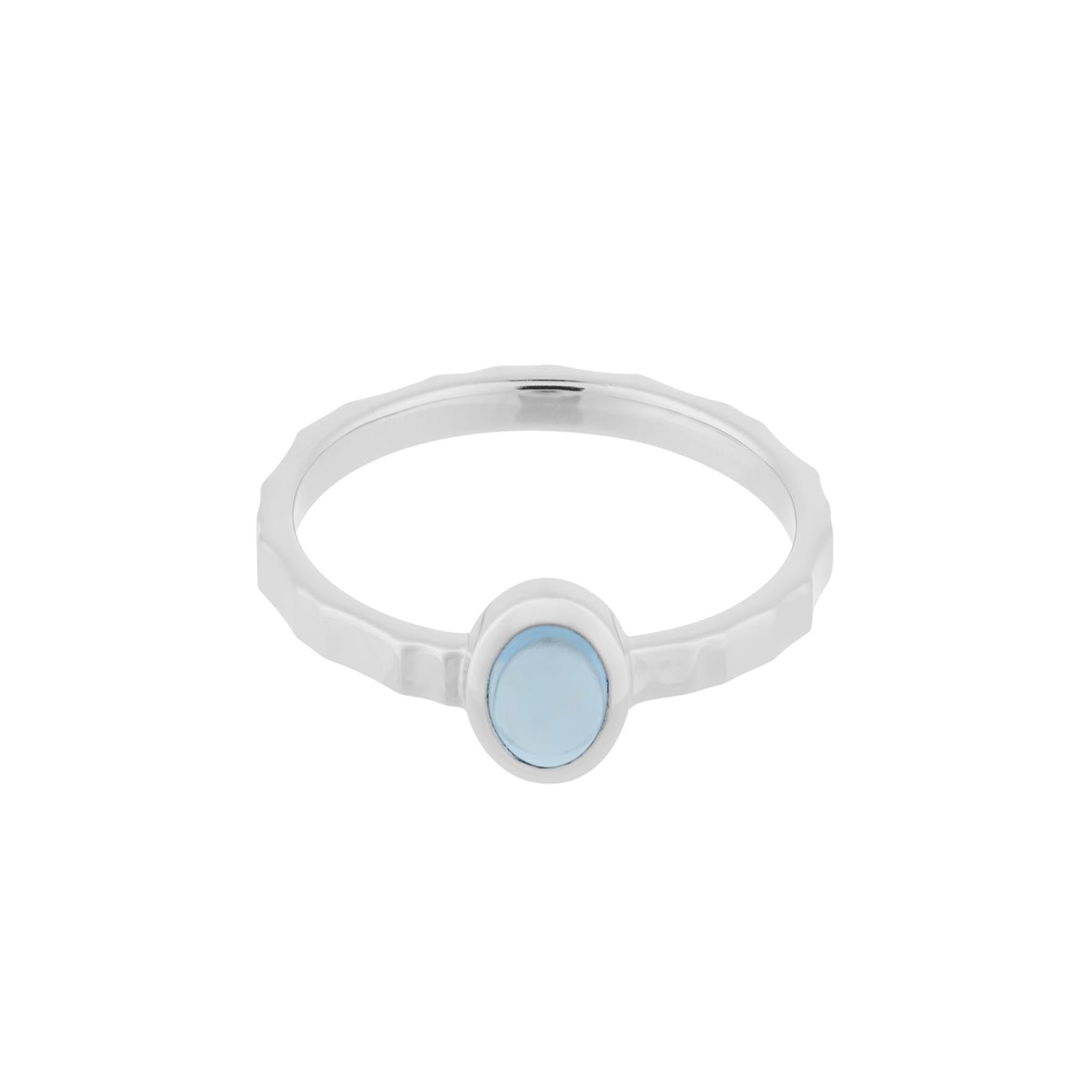 Shine Blue Ring von Pernille Corydon in Silber Sterling 925