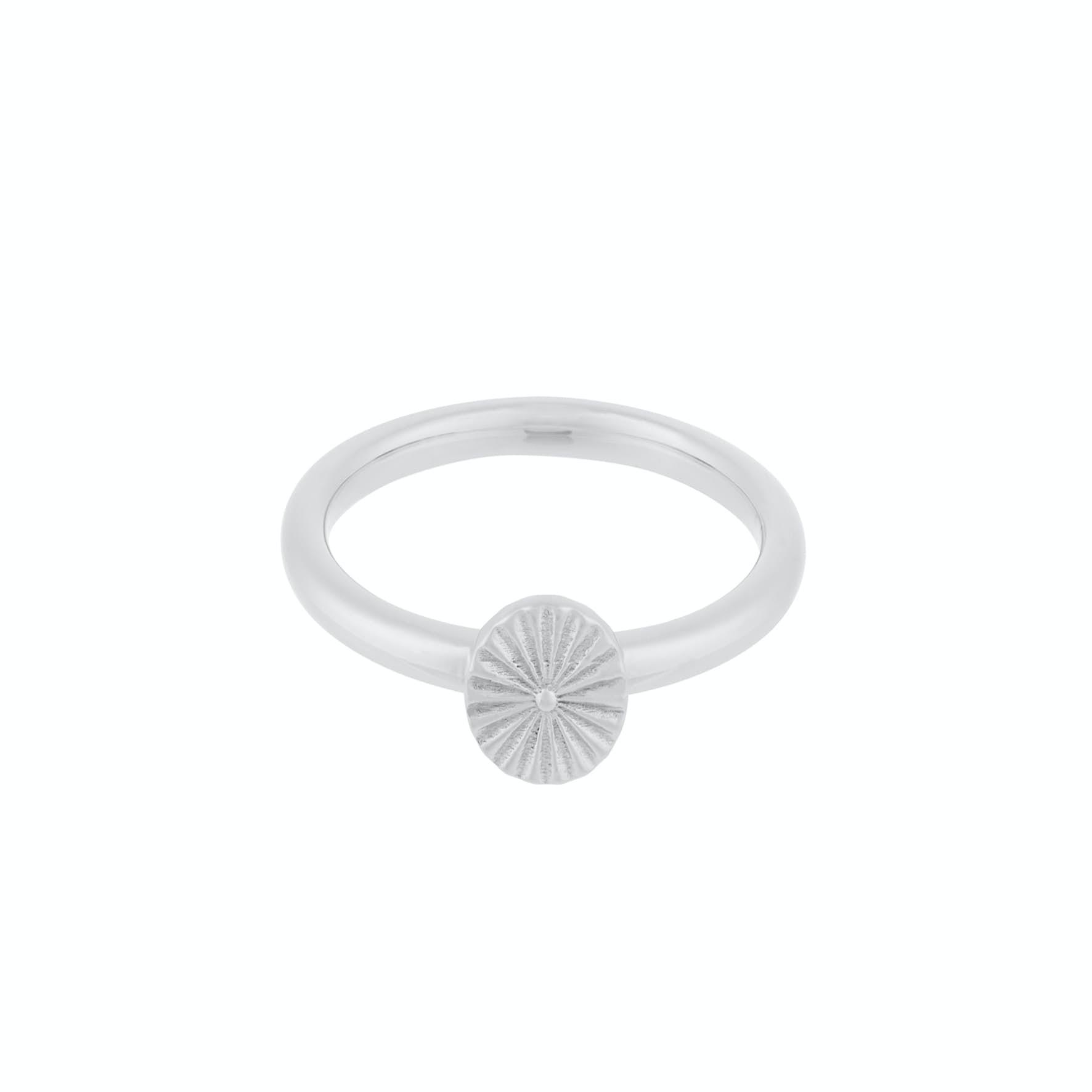 Small Sun Ring von Pernille Corydon in Silber Sterling 925