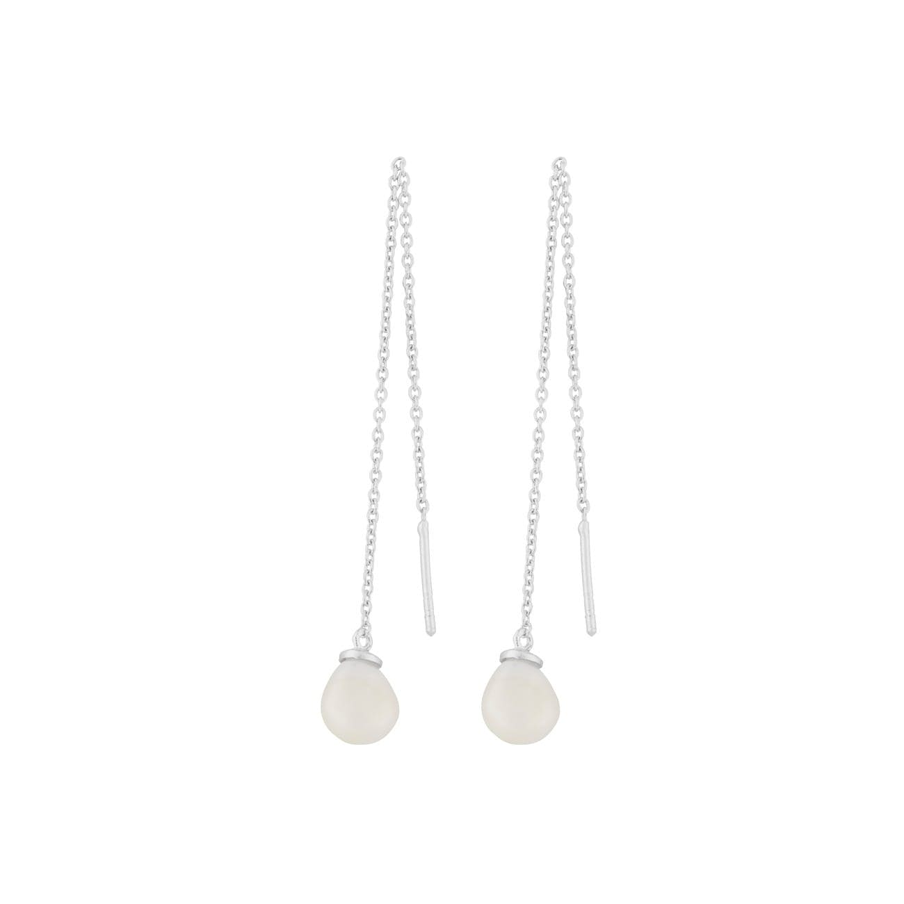 Lagoon earchains von Pernille Corydon in Silber Sterling 925