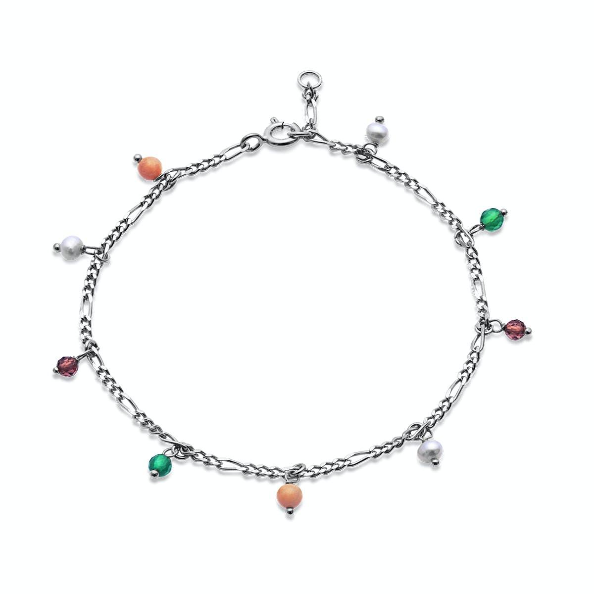 Salma color bracelet von Maanesten in Silber Sterling 925 Blank