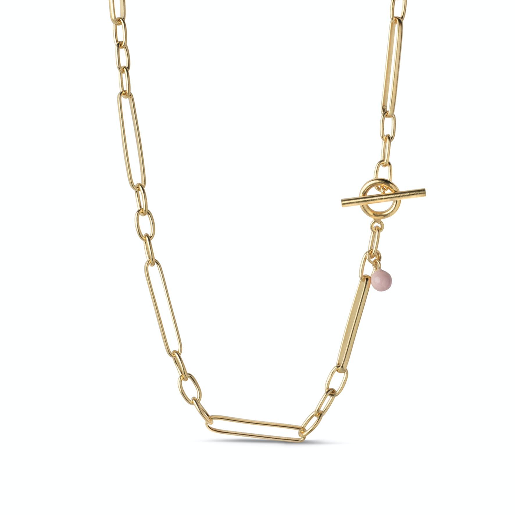 Vilde Necklace von Enamel Copenhagen in Vergoldet-Silber Sterling 925
