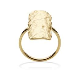 Cuesta ring von Maanesten in Vergoldet-Silber Sterling 925|Blank