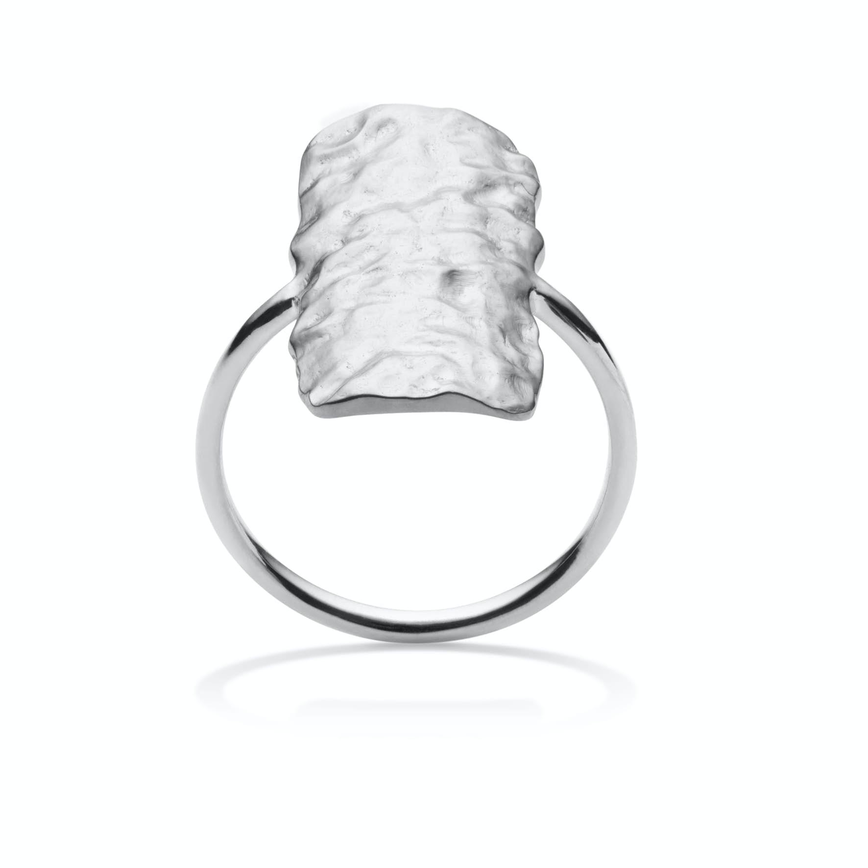 Cuesta ring fra Maanesten i Sølv Sterling 925|Blank