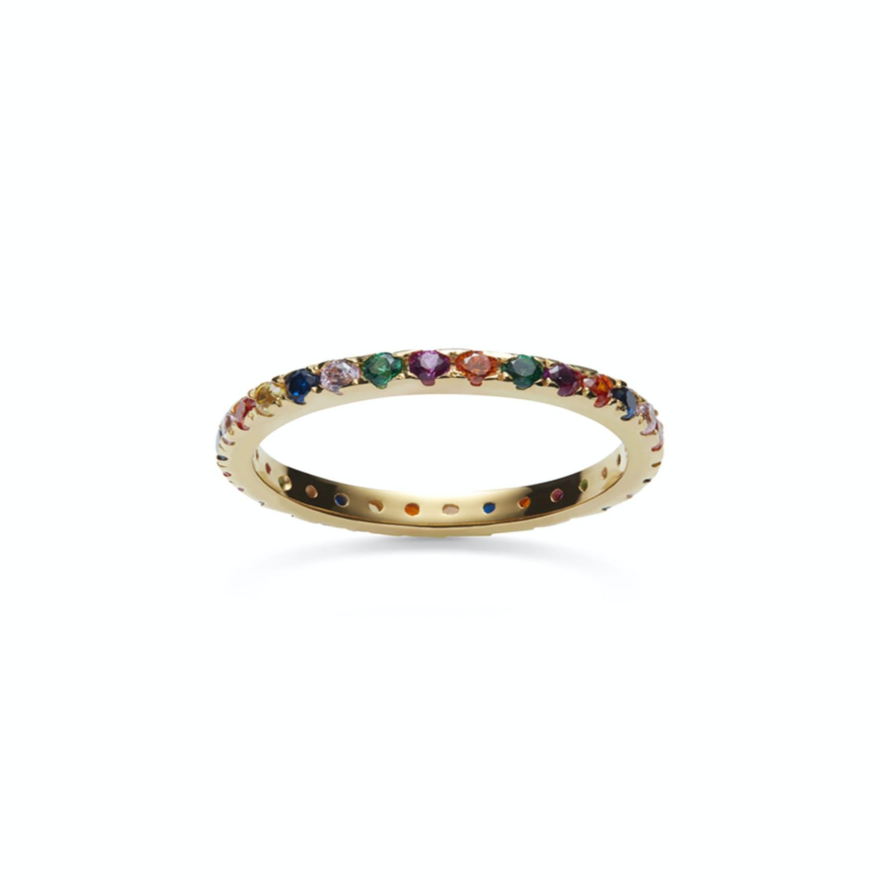 Pari ring fra Maanesten i Forgylt-Sølv Sterling 925|Blank