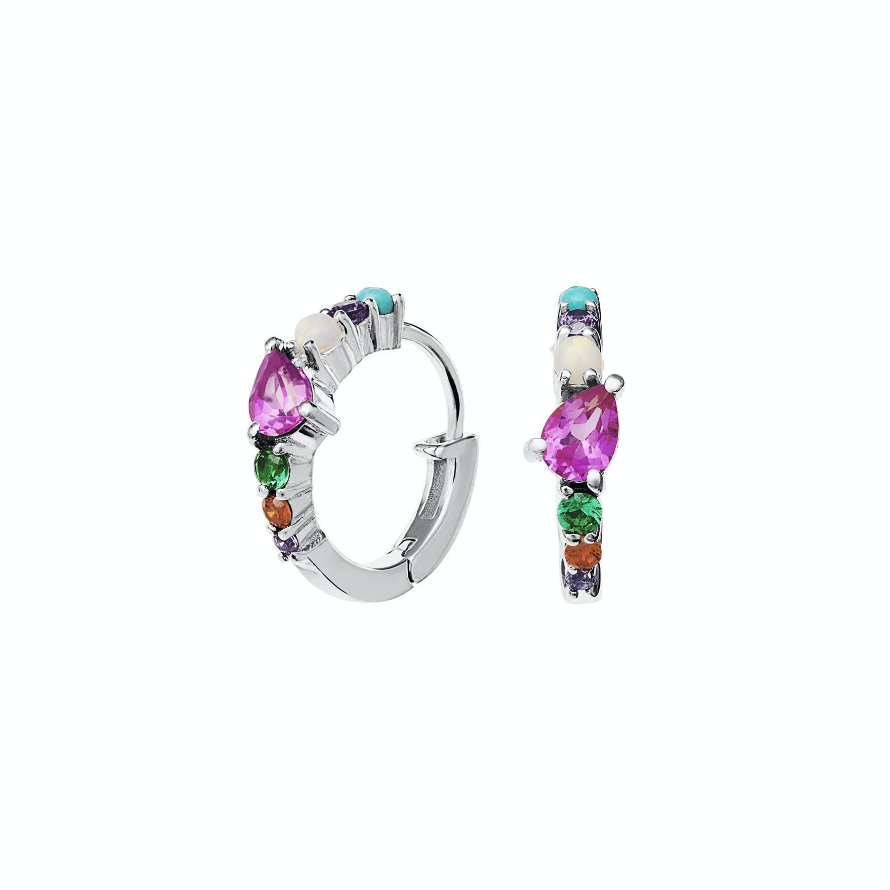 Calli Earrings from Maanesten in Silver Sterling 925
